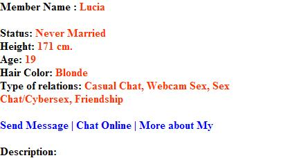 loacal online sex chat